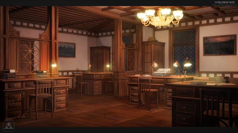 ZOI Office. steampunk by Voloshenko
