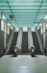 escalator by Voloshenko