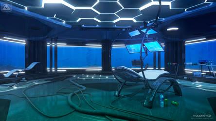 Underwater office by Voloshenko