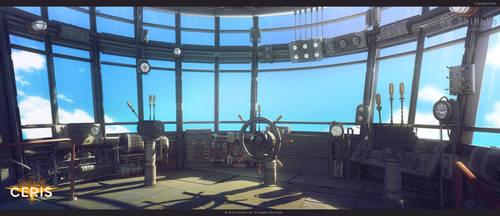 ship control room by Voloshenko