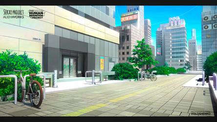 Tokyo street by Voloshenko