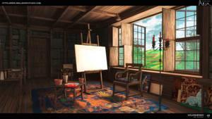 medieval art room