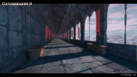 Castle hall way
