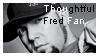 Thoughtful Fred Fan by DarkRed27