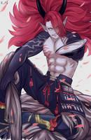 Shuten douji: Demon king skin by kittycat291096