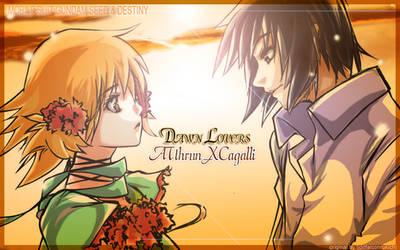 GSD AsuCaga Dawn Lovers by KidRou