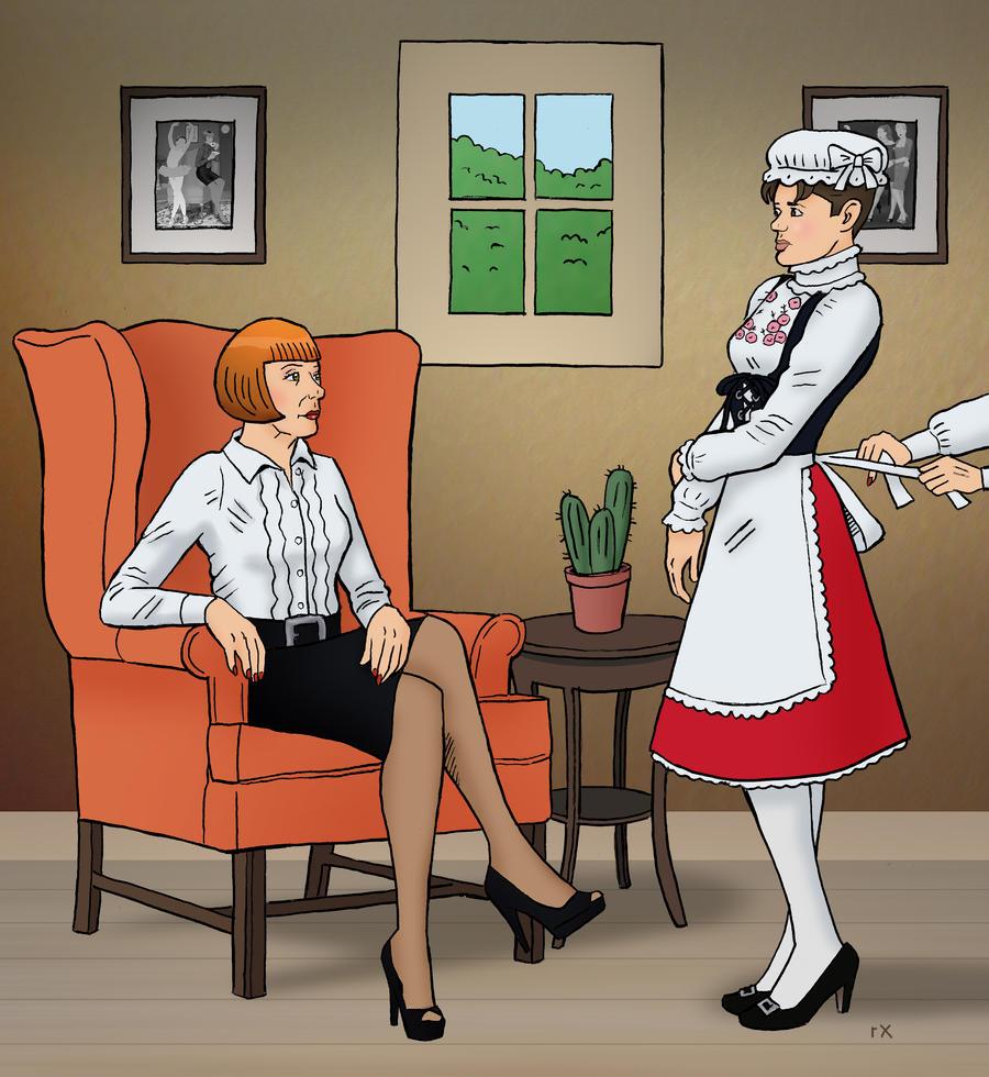 Retro spank petticoat, pinay school girl