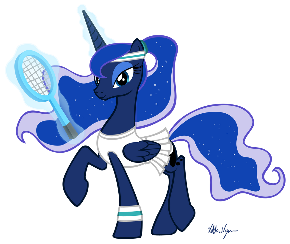 Tennis Luna by ViktorNewman