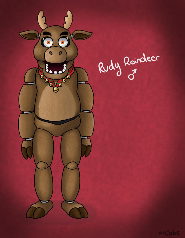 FNaF OC - Rudy Reindeer by CoksTheDragon on DeviantArt