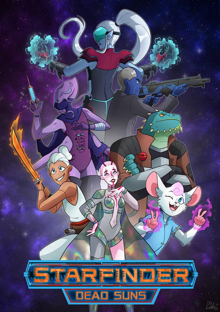 Starfinder Dead Suns Poster