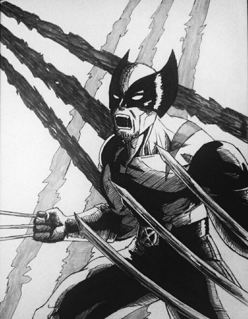 XMen - Wolverine by 19darkknight87