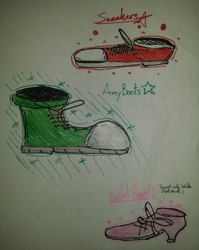 Shoes :D by RandyGamer35