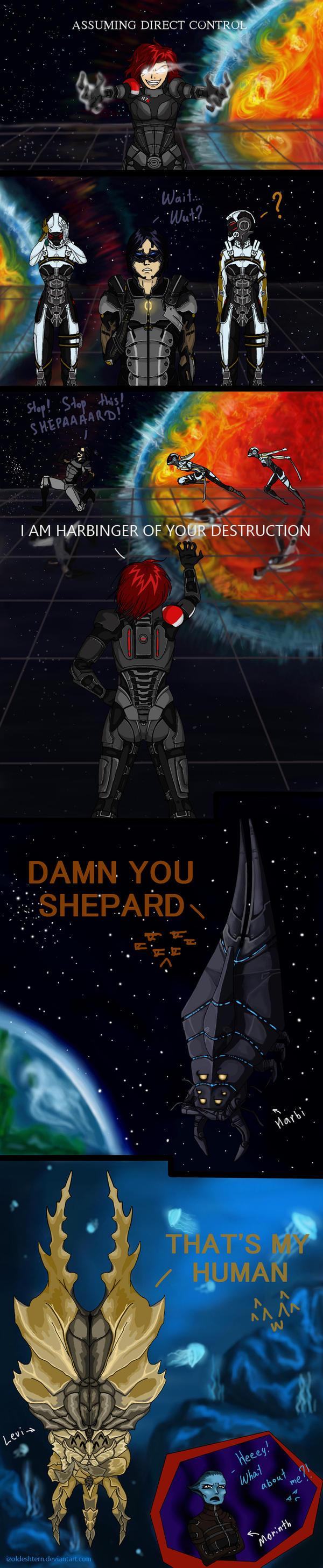 ME: I AM HARBINGER (DLC Leviathan spoiler) by IzoldeDeith
