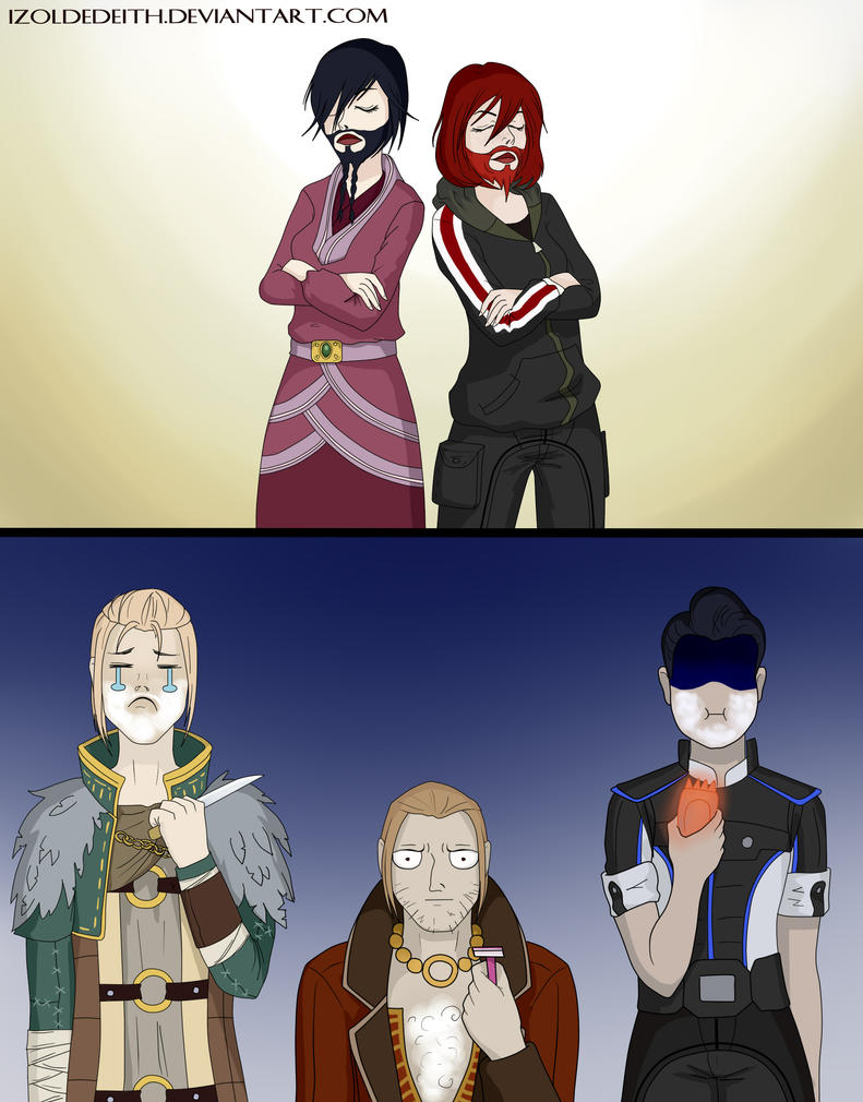 The Beard will Never be the Same by IzoldeDeith