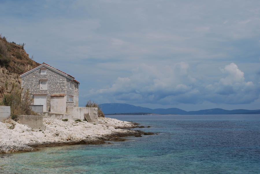 Susak View on Cres and Losinj by ReneHaan