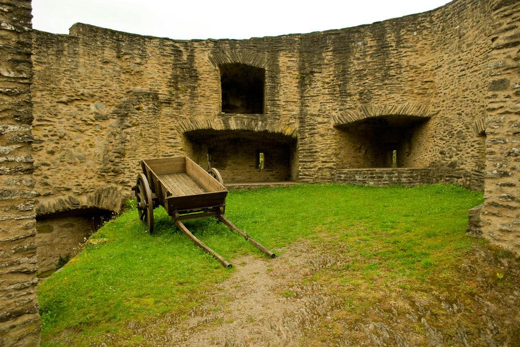 Castle Bourscheid - Luxembourg by ReneHaan