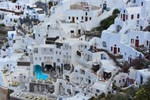 Oia - inner city by ReneHaan