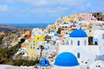 Another view at Oia by ReneHaan