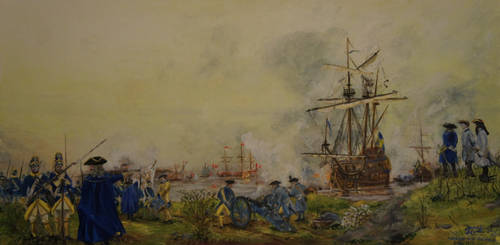 Battle of Nya Varvet 3 May 1717