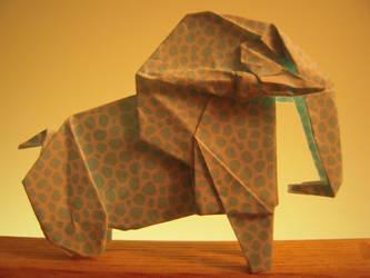 Elephantigami by Whosat