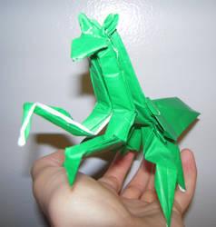 Folding Mantis by Whosat