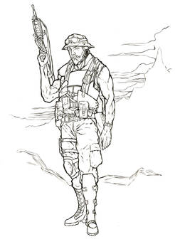 Military Lineart