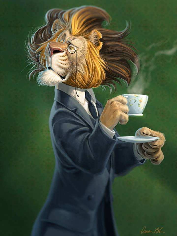 Character Design By Aaron Blaise : Tea time by ablaise on deviantart
