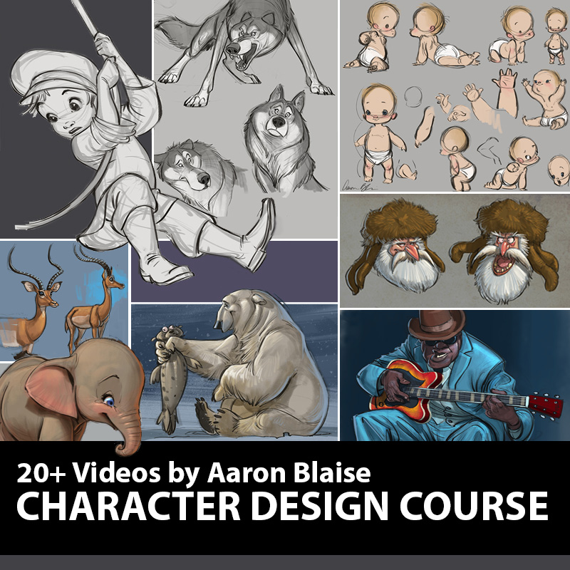 how to draw character design