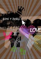 kimi boku LOVE by tekhniklr