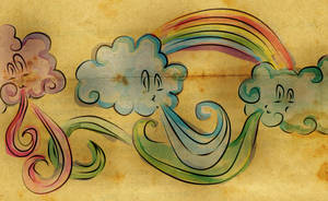 for CLOUD and the RAINBOW by tekhniklr