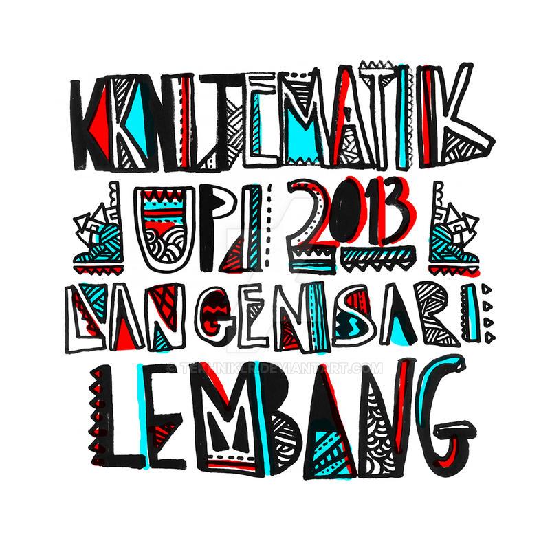 Langensari: The Typography by tekhniklr