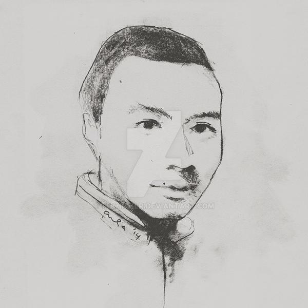 A Portrait of Imam by tekhniklr