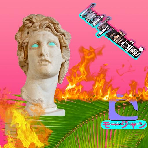 Vaporwave Bust by Neolukos