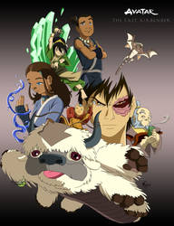 The Last Airbender -Color- by cactusJU1CE