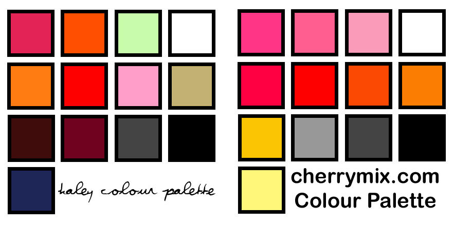 My colour palette by coconut-lane