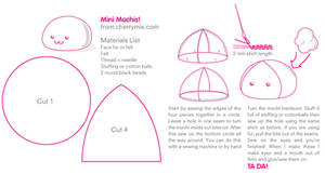 Mini Mochi Pattern Sheet