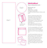 Marshmallow Pattern Sheet by coconut-lane