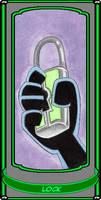 Lock Card by SoulieReborn