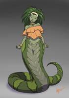 [COMMISSION] Sylvia the Naga