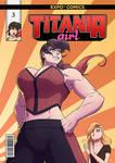 [COMMISSION] Titania Girl #3 cover