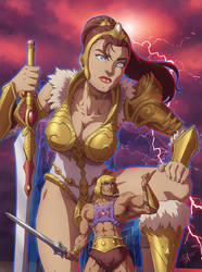 [COMMISSION] He-man and Teela