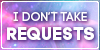 Status Stamp Pink Space Requests by 82bee