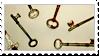 Stamp Keys by 82bee