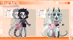 Demomo Adopts Halloween Batch - 1 of 2 OPEN by 82bee