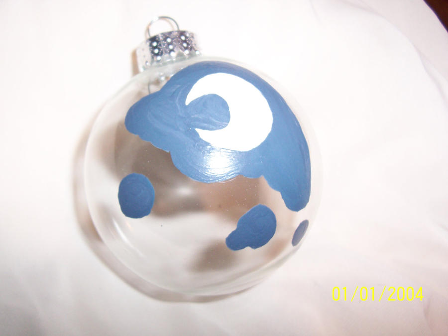 Luna Cutie Mark Ornament by AppieJackie