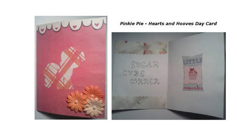 Pinkie Pie Hearts and Hooves Day Card