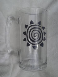 Hand Painted Zecora Mug Glass