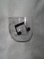 Vinyl Scratch/DJ Pon-3 Mini Tumbler Glass