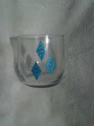 Hand Painted Rarity Mini Tumbler Glass