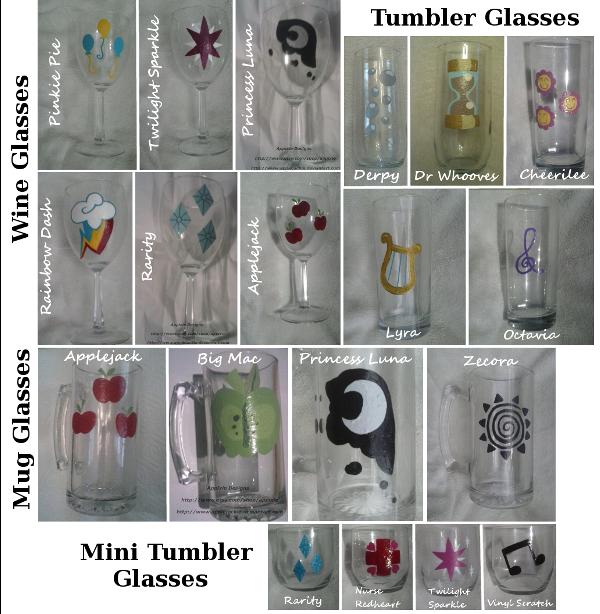 All Glasses So Far by AppieJackie